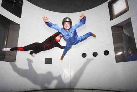 Twinwoods Adventure - Indoor skydiving experience for one - Save 45%