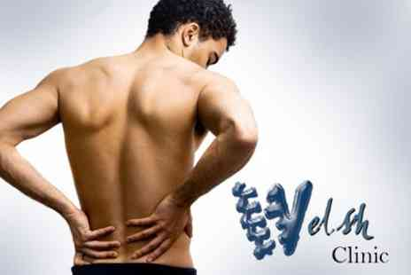 Welsh Clinic - Chiropractic Consultation, Massage and Treatment for £29 - Save 71%