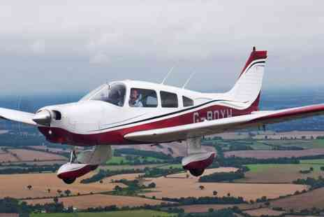 Bristol Flying Club - 30 or 60 minute flying lesson for one person with a six month membership - Save 55%