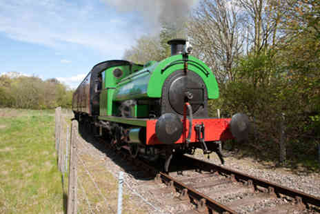 Elsecar Heritage Railway - Two adult and two junior tickets to ride the Elsecar Heritage Railway - Save 40%