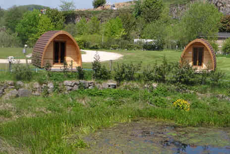 Peak District Yurts - Two night glamping experience for two - Save 0%