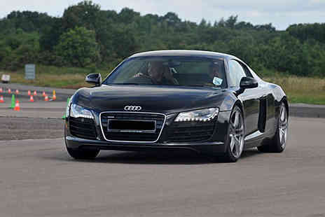 Buyagift - Audi R8 thrill driving experience choose from 14 UK locations - Save 0%