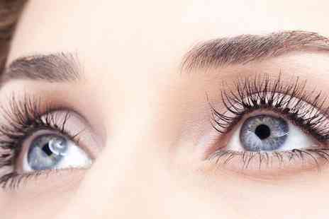 Mademoiselles Hair & Beauty - Semi Permanent Eyelash Extensions Half or Full Set - Save 51%