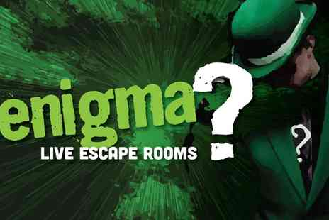 Enigma Rooms - Escape Room Game for Up to Six - Save 38%
