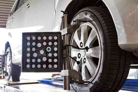 David Dexters - 3D Four Wheel Alignment Car Service - Save 30%