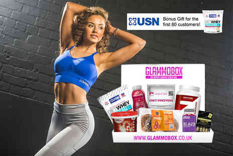 Ammobox - Health and fitness supplements box, plus USN diet whey for the first 80 customers Plus Delivery Included - Save 0%