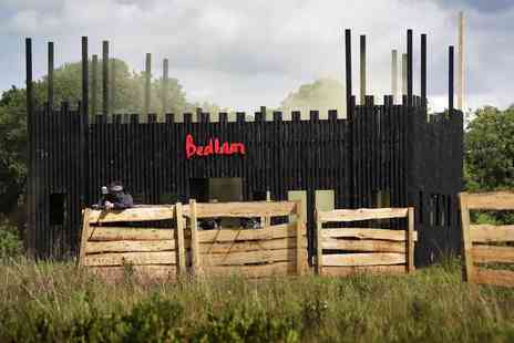 Bedlam Paintball - Paintballing day for up to five - Save 95%