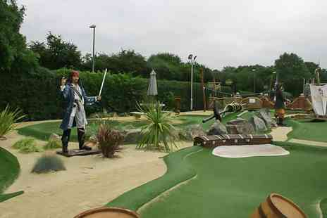 Pirates Landing Adventure Golf - Adventure Golf for Two or a Family - Save 17%