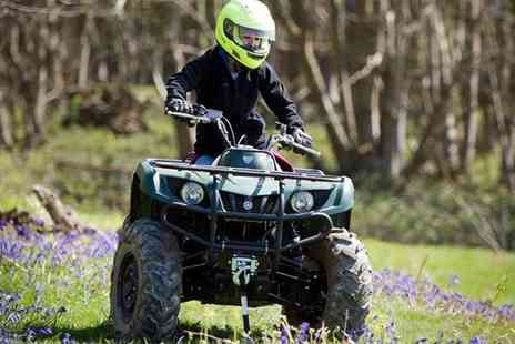 True Grip Off Road - One Hour Quad Biking Session for Two People - Save 0%