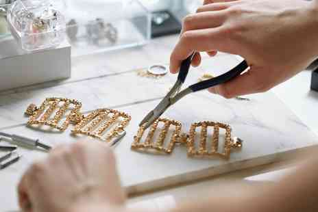 Crown Jewellery School - Jewellery Making Workshop with Tea and Cake for One or Two - Save 64%