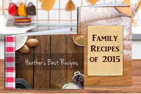 Photobook Shop - Personalised Recipe Books - Save 80%