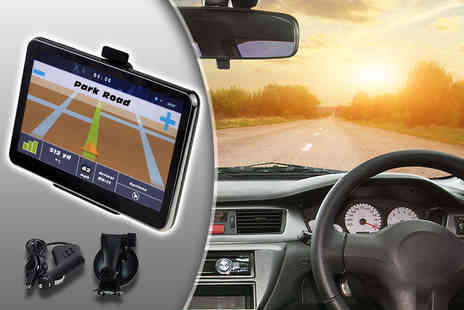 Metallic Turtle - HD GPS sat nav with UK and European maps - Save 81%