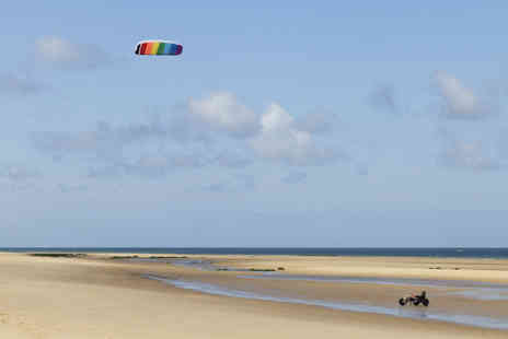 The Kitesurf Centre - Mix and match activity day choose from powerkiting, kite buggying and landboaring - Save 53%