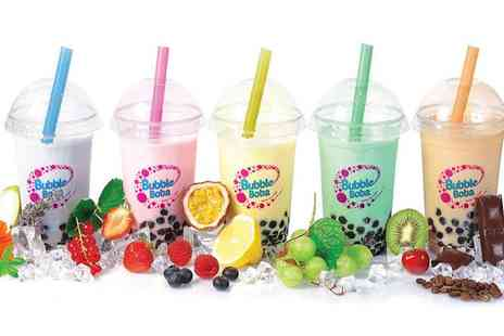 Bubble Boba - One, Two or Four Bubble Teas - Save 0%