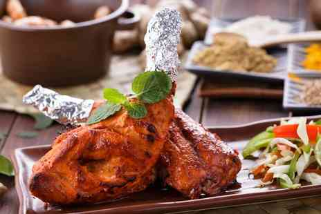 The Grill - Two Course Indian Meal with Sides for Two or Four - Save 0%