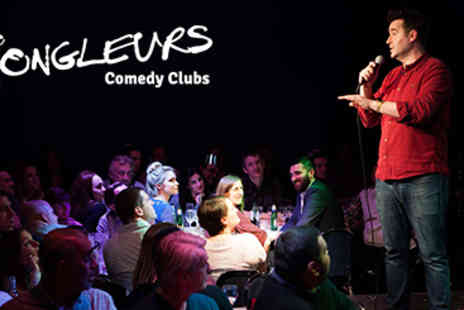 Jongleurs Comedy - Four Jongleurs Comedy Tickets for the Price of Two in Glasgow - Save 0%