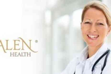 Galen Health - Comprehensive Head to Toe Medical Assessment With GP Consultation, Full Blood Profile and ECG - Save 76%
