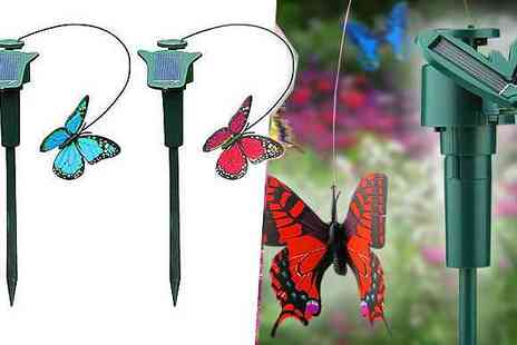 london exchainstore - Fluttering Solar Powered Butterfly - Save 54%