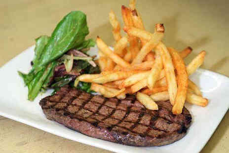 Banks Bistro - Rump steak meal for two - Save 67%