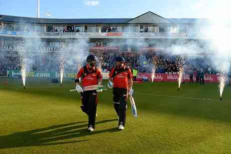 Durham County Cricket Club - Hospitality ticket to NatWest T20 blast Durham vs Leicestershire - Save 59%