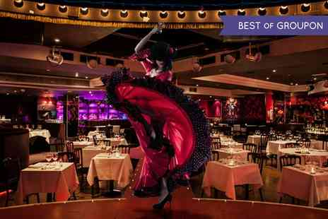 Proud Cabaret City - Cabaret and Burlesque Show Entry with a Three Course Dinner and Glass of Prosecco  - Save 57%