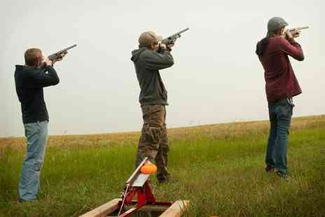 The Oxfordshire Shooting School - One Hour Clay Pigeon Shoot For One or Two - Save 0%