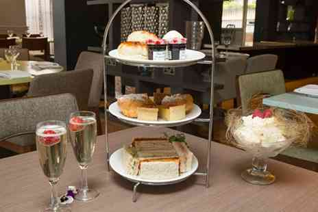 Hilton Newbury North hotel - Prosecco Afternoon Tea for Two with Spa Access for Two - Save 61%