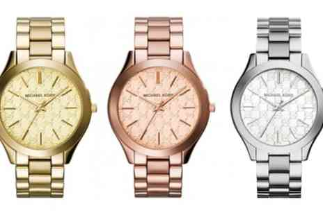 Groupon Goods Global GmbH - Michael Kors Watches in Four Styles With Free Delivery - Save 65%