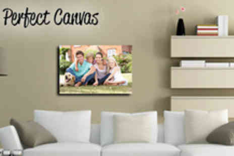 Your Perfect Canvas - A2 Canvas from Your Perfect Canvas  spruce up your tired walls - Save 81%