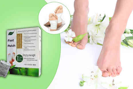 Seated Toad - 1, 2 or 3 Packs of Detox Foot Patches - Save 83%