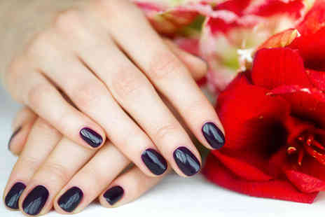 LaParlour London - Deluxe manicure or deluxe manicure and pedicure - Save 66%