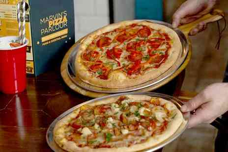 Marvins Pizza Parlour - Unlimited Pizza, Pasta and Salad for Two or Four - Save 38%