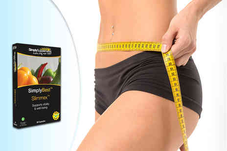 Simply Supplements - Two month supply of Slimmex capsules - Save 53%