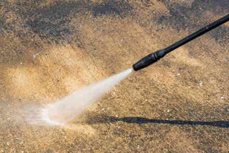 Infinity Cleans - 10 sq. metres of a driveway, patio or decking power clean or include conservatory - Save 70%