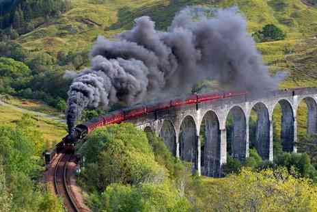 Activity Superstore - Steam train experience and cream tea for two - Save 0%