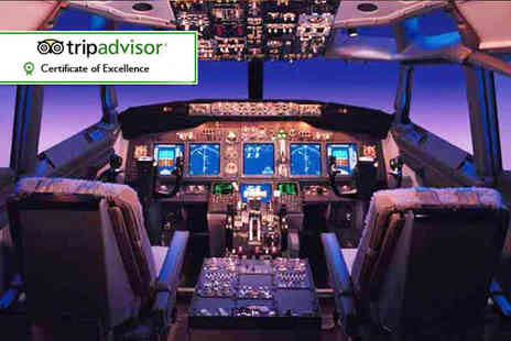 Flight Simulators Midlands - Flight simulation experience - Save 53%