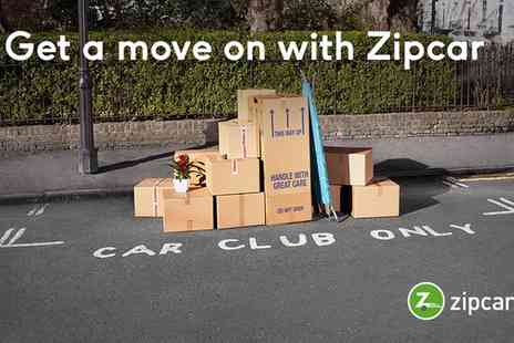 Zipcar - Zipcar Membership with £18, £35, £55 or £65 Driving Credit - Save 63%