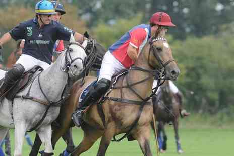 Polo For Heroes - 16 to 17 Year Old or Adult Entry with Optional Lunch and Fizz on 30 July - Save 10%