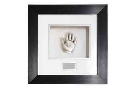 Baby Prints and Castings - £65 towards a bespoke framed casting - Save 50%