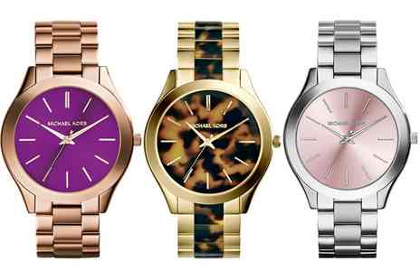 Groupon Goods Global GmbH - Michael Kors Womens Watches in Choice of Design - Save 61%