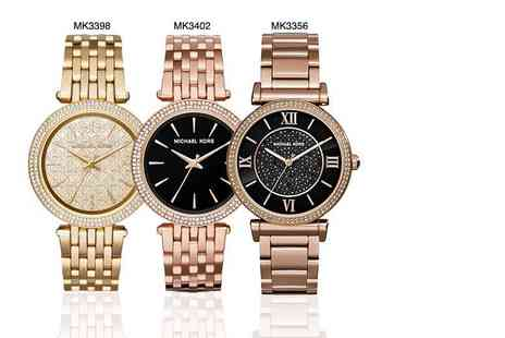 Wowcher Direct - Ladies Michael Kors watch in a choice of five designs Plus Delivery Included - Save 51%