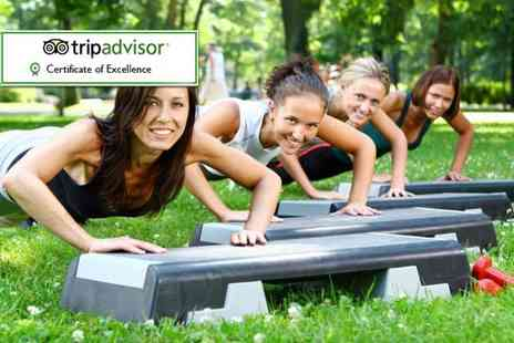 Motivate Bootcamp - Two day all inclusive ladies only fitness retreat - Save 56%