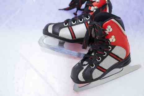 Silver Blades - Ice Rink Entry with Skate Hire for Up to Four - Save 30%