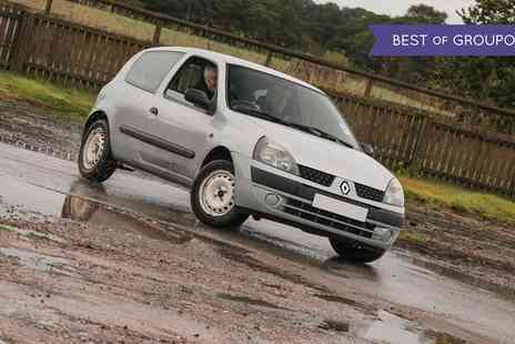 Drive Me - Six Track Laps in Renault Clio with an Instructor and Optional Handbrake Turns - Save 0%