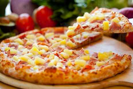 Abigail's Cafe - Pizza with Drinks for Two or Four - Save 63%