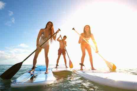 Dexter's Surf Shop - One- or Two Hour Super Sup Paddleboard Hire for Up to Eight - Save 40%