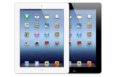 Clickwrap - Refurbished Apple iPad 3 or 4 WiFi 16GB or 32GB With Free Delivery - Save 0%