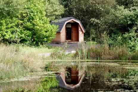 Cleveley Bridge Fishery And Leisure Park - One to Three Night Camping Pod Stay For 2 Adults and 2 Children  - Save 0%