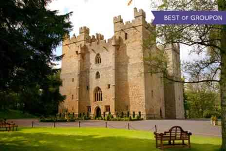 Langley Castle Hotel - One or Two Nights Stay For 2 With Breakfast and Castle Tour; With Option For Dinner - Save 48%