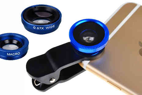 Xpress Buyer - Three In One Smartphone Camera Lens Kit - Save 0%